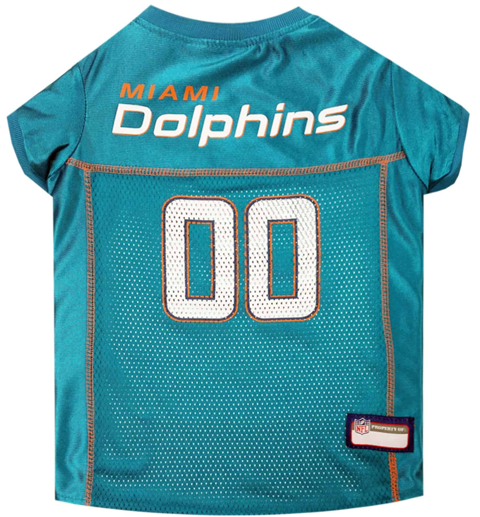 Miami Dolphins Pet Football Jersey