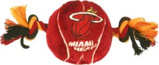 Miami Heat Plush Dog Toy