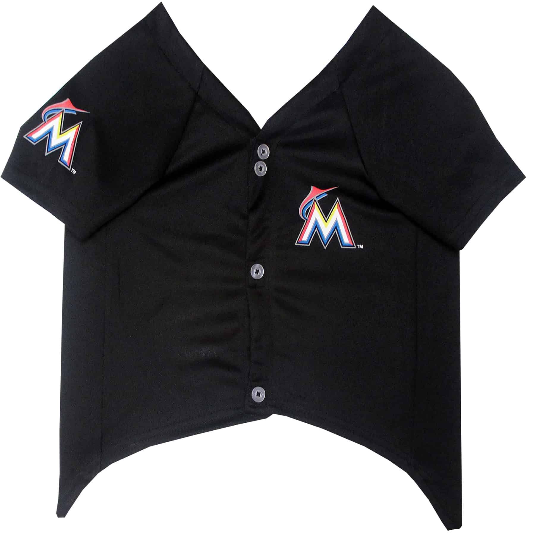 Miami Marlins Dog Jersey