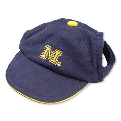 Michigan Wolverines Dog Cap