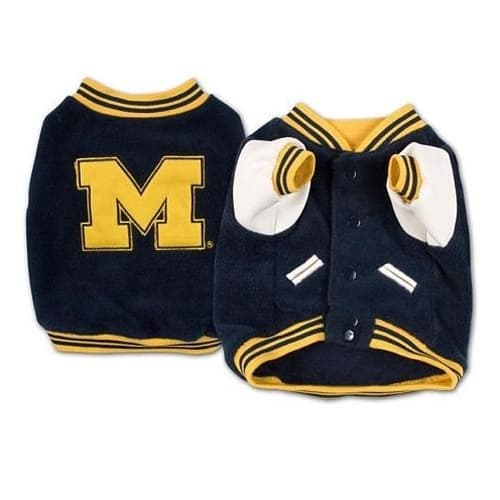 Michigan Wolverines Dog Jacket