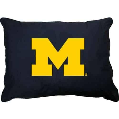 Michigan Wolverines Dog Pillow
