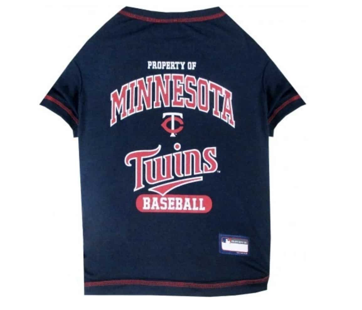 Minnesota Twins Dog Tee Shirt