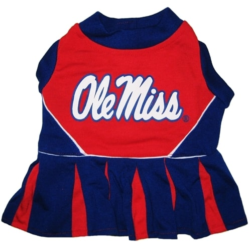 Mississippi Rebels Dog Cheerleader