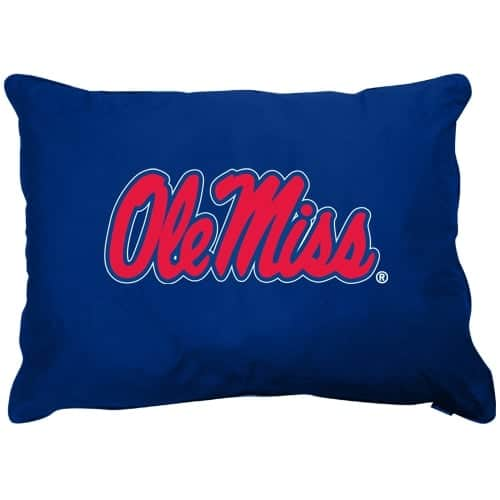 Mississippi Rebels Dog Pillow