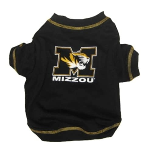 Missouri Tigers Dog Tee Shirt