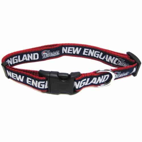 New England Patriots Dog Collar - Ribbon