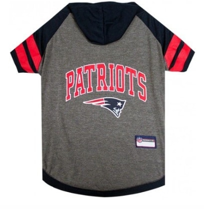 New England Patriots Hoody Dog Tee