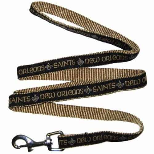 New Orleans Saints Dog Leash - Ribbon