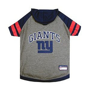 New York Giants Dog Hoody Tee