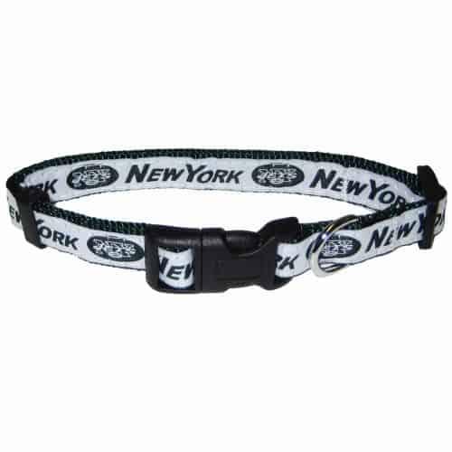 New York Jets Dog Collar - Ribbon