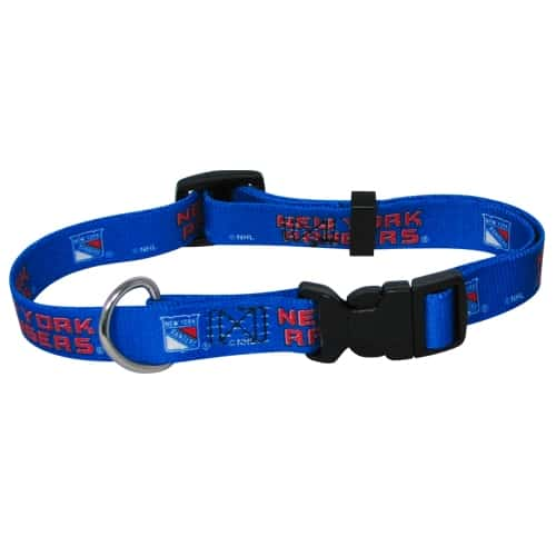 New York Rangers Dog Collar