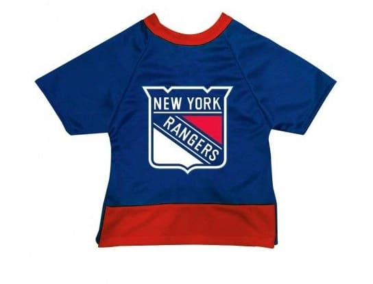 New York Rangers Dog Jersey