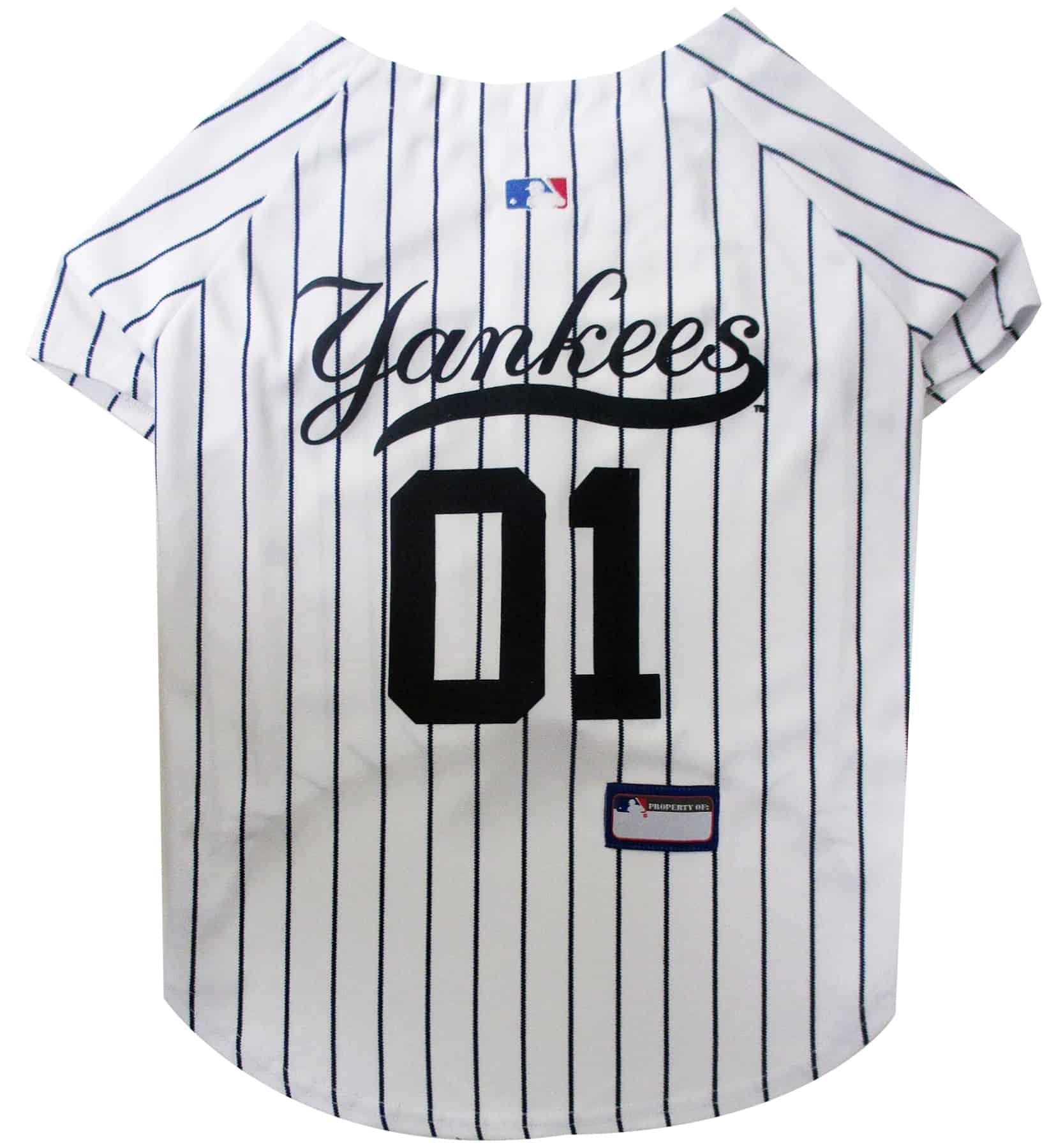 New York Yankees Dog Jersey - White