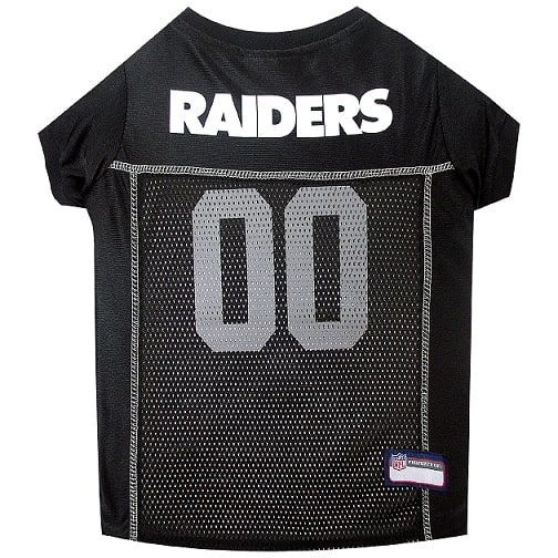 Oakland Raiders Pet Football Jersey