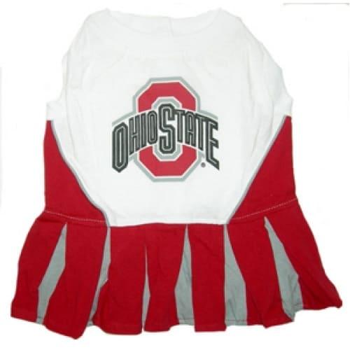 Ohio State Cheerleader Dog Dress
