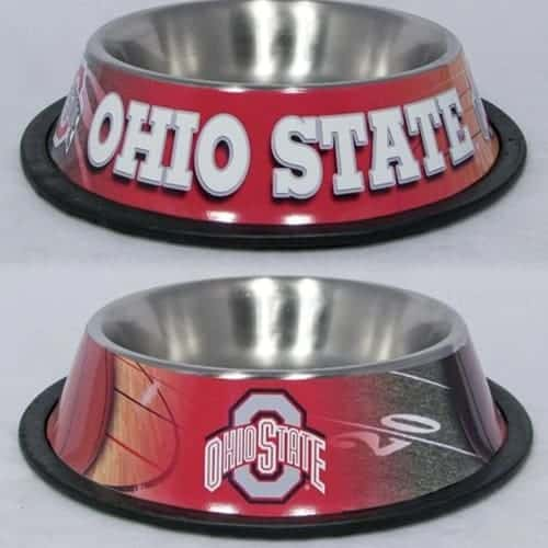 Ohio State Dog Bowl - Stainless