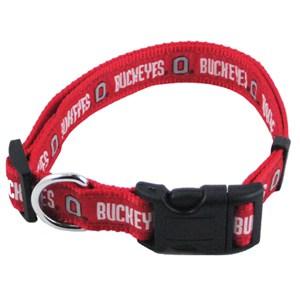 Ohio State Dog Collar - Ribbon