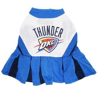 Oklahoma City Thunder Cheerleader Dog Dress