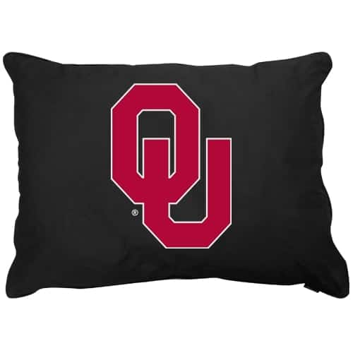 Oklahoma Sooners Dog Pillow