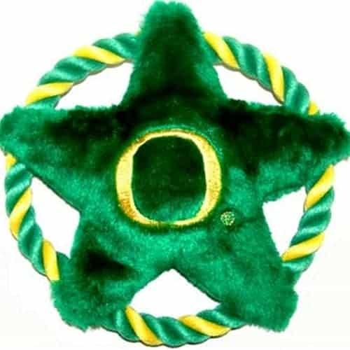 Oregon Ducks Dog Rope Disk