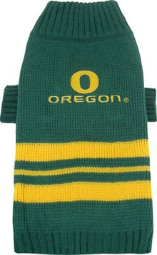 Oregon Ducks Dog Sweater