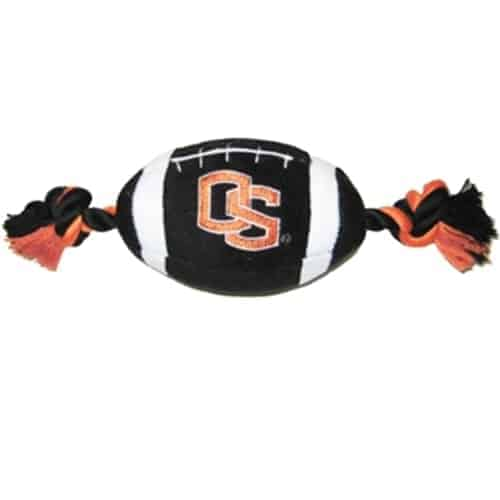 Oregon State Plush Football Dog Toy