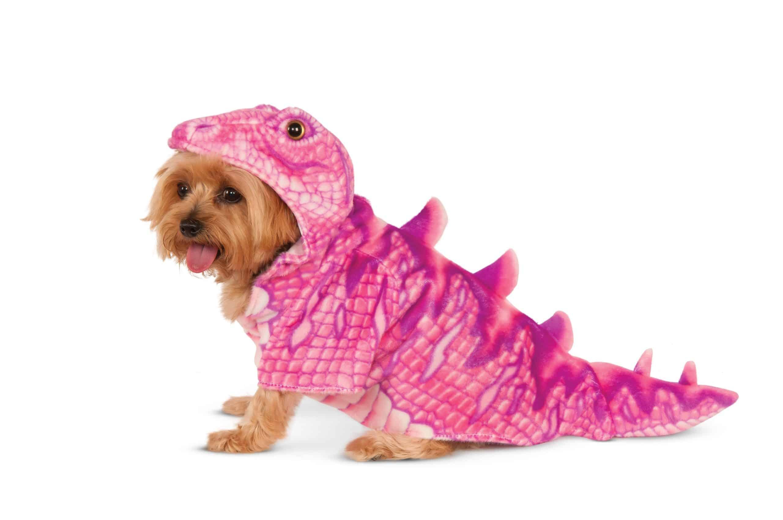 Pink Dino Dog Costume
