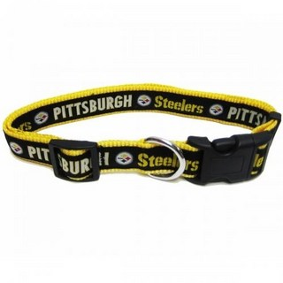 Pittsburgh Steelers Dog Collar - Ribbon
