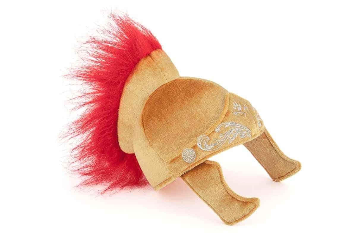 Roman Helmet Dog Toy