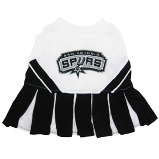 San Antonio Spurs Cheerleader Dog Dress