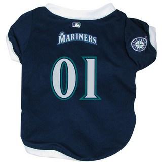 Seattle Mariners Dog Jersey