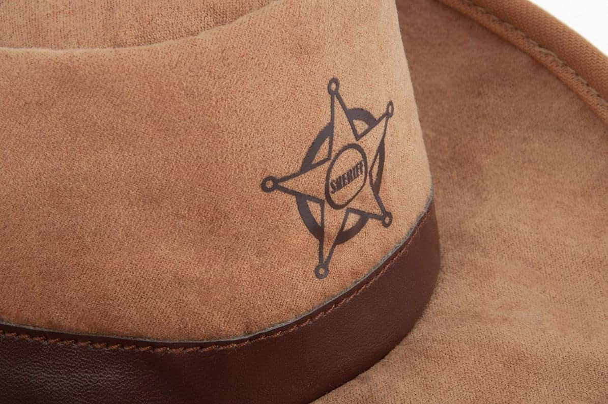 Sheriff Hat Dog Toy