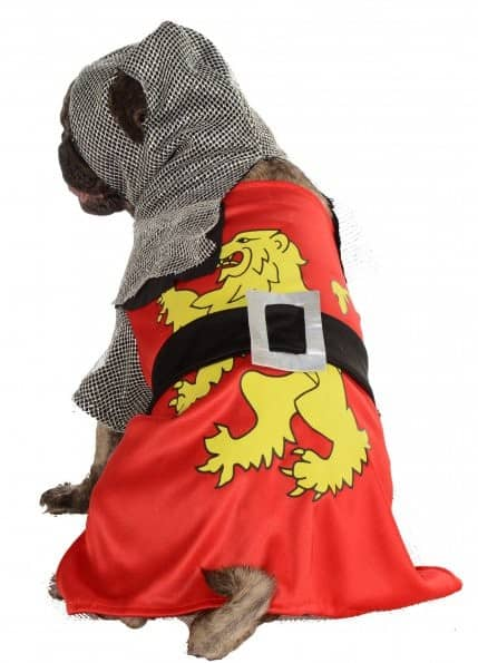 Sir-Barks-A-Lot Dog Costume