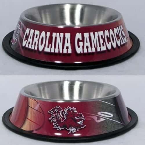 South Carolina Gamecocks Dog Bowl - Stainless