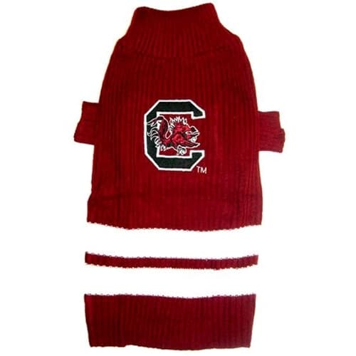South Carolina Gamecocks Dog Sweater