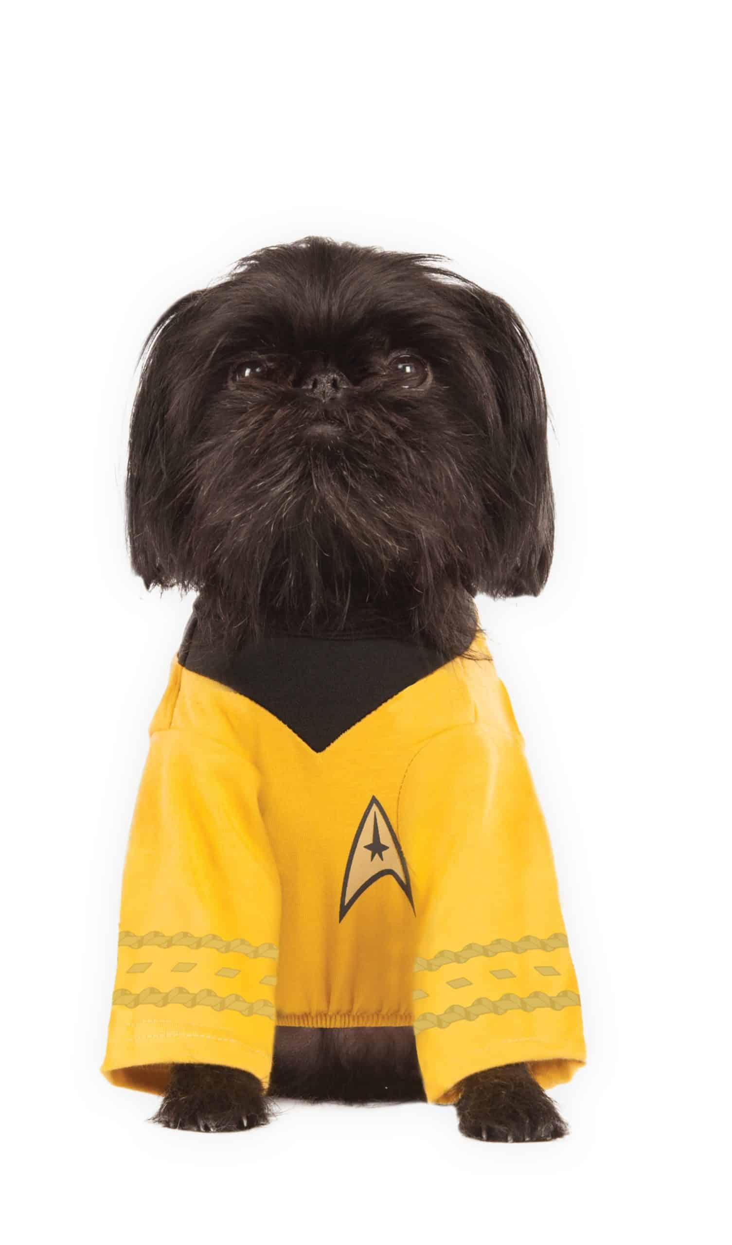 Star Trek Captain Kirk Dog Costume