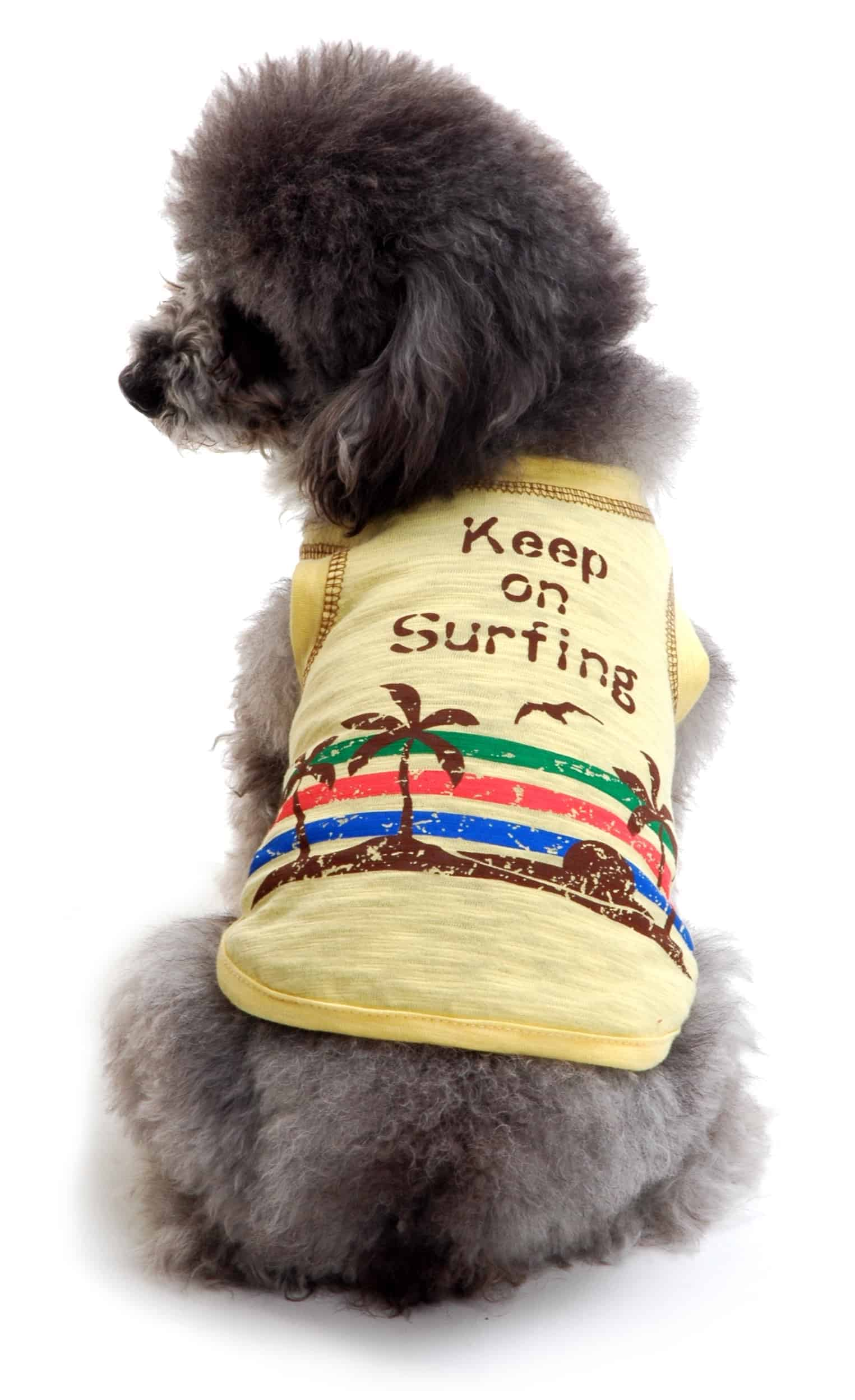 Surfing Dog Shirt
