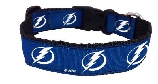 Tampa Bay Lightning Dog Collar