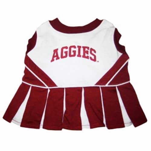 Texas A&M Cheerleader Dog Dress
