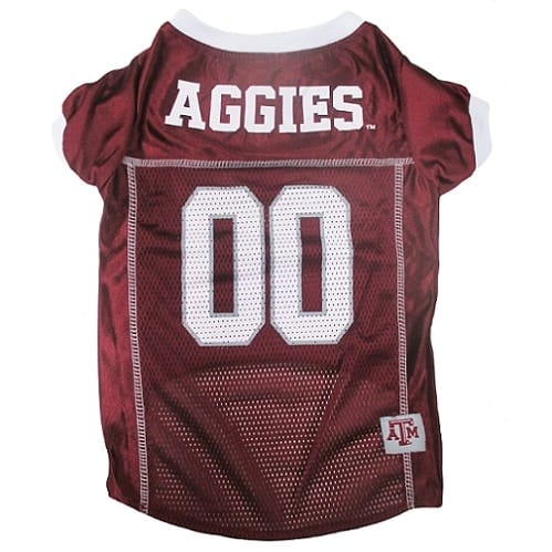 Texas A&M Dog Jersey