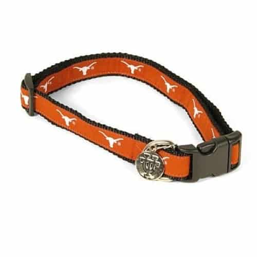 Texas Longhorns Dog Collar - Premium