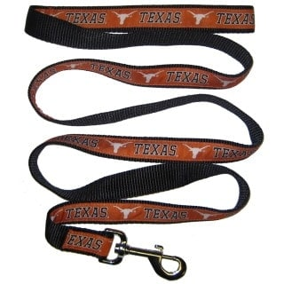 Texas Longhorns Dog Leash - Ribbon