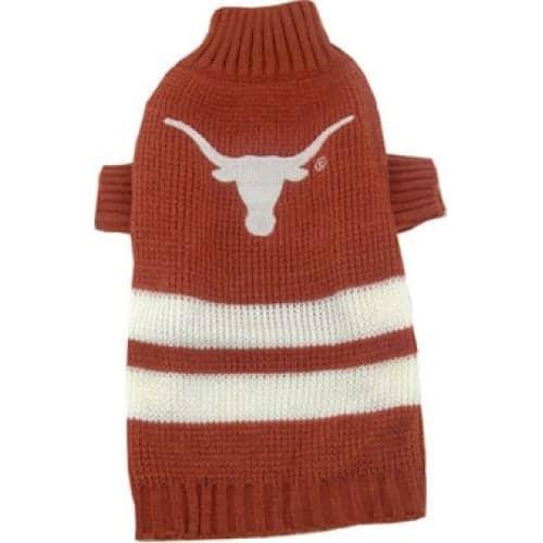 Texas Longhorns Dog Sweater