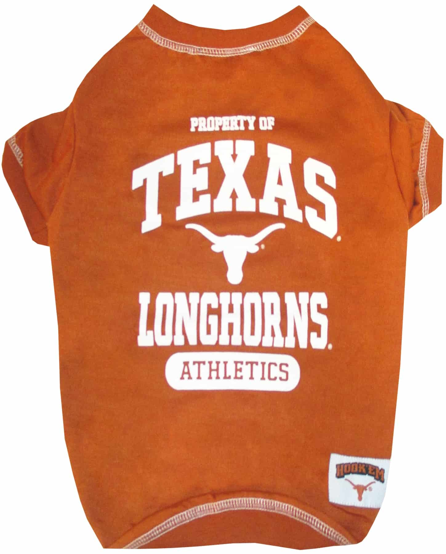 Texas Longhorns Dog Tee Shirt