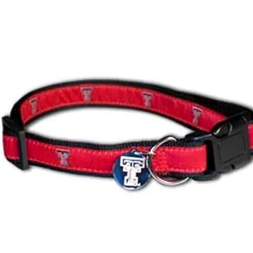 Texas Tech Dog Collar - Premium
