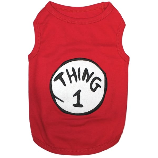 Thing 1 Dog Shirt