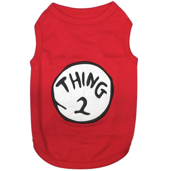 Thing 2 Dog Shirt