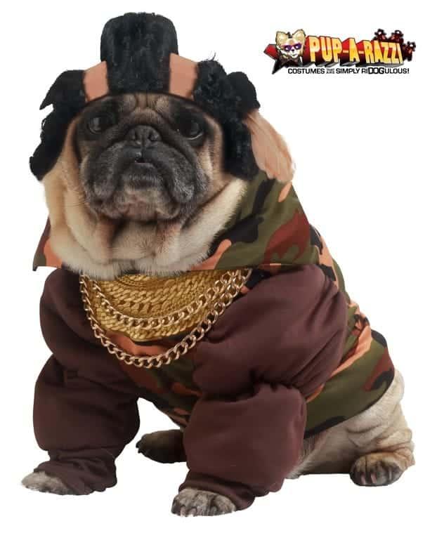 Thug Life Dog Costume
