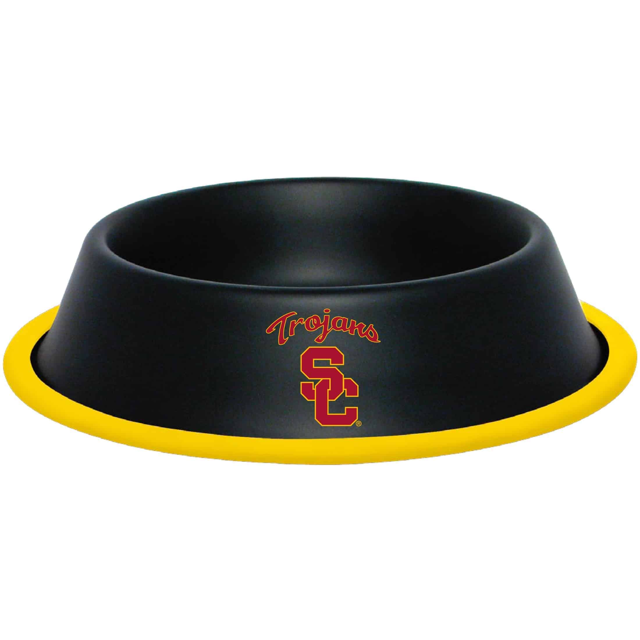 USC Trojans Dog Bowl - Stainless